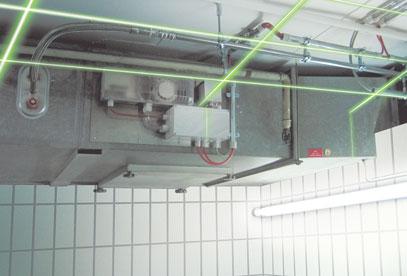 Brandschutzklappensanierung mit Niederdruck-Feinsprühanlagen