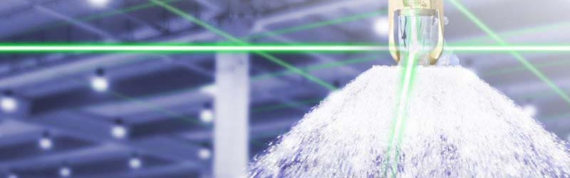 Ausgelöste Sprinkleranlage