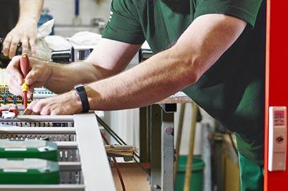 G&S Brandschutz: Elektriker für Brandschutz-Anlagen