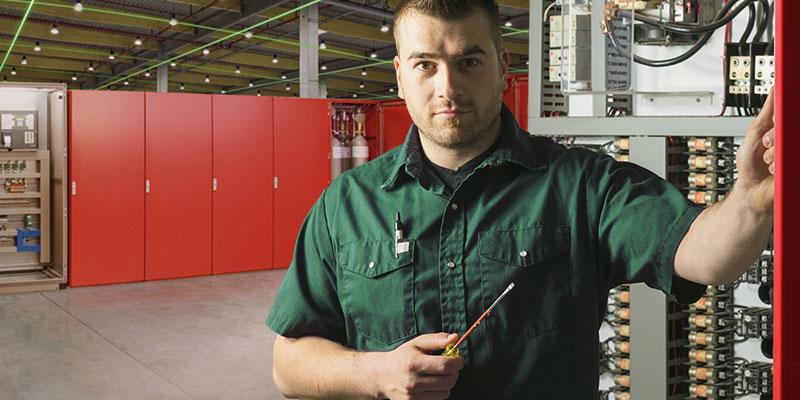 G&S Brandschutz: Elektrotechniker für Brandschutz-Anlagen