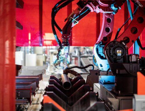 Rosenbauer Brandschutz betreibt modernste Rohrvorfertigungsanlage